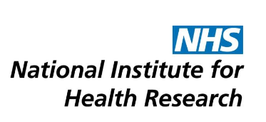 National Institute for Health Research logo. Clicking the link takes you to the NIHR website